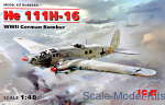 ICM48263 He 111H-16, WWII German bomber