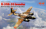 ICM48281 B-26B-50 Invader, Korean War American bomber