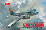 ICM48283 A-26С-15 Invader (WWII American bomber)