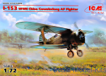 ICM72076 I-153, WWII China Guomindang AF Fighter