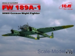 ICM72293 WWII German night fighter FW 189A-1