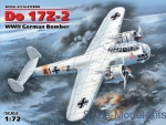 ICM72304 WWII German bomber Do 17Z-2