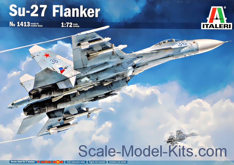"Su-27 ""Flanker"" Fighter"