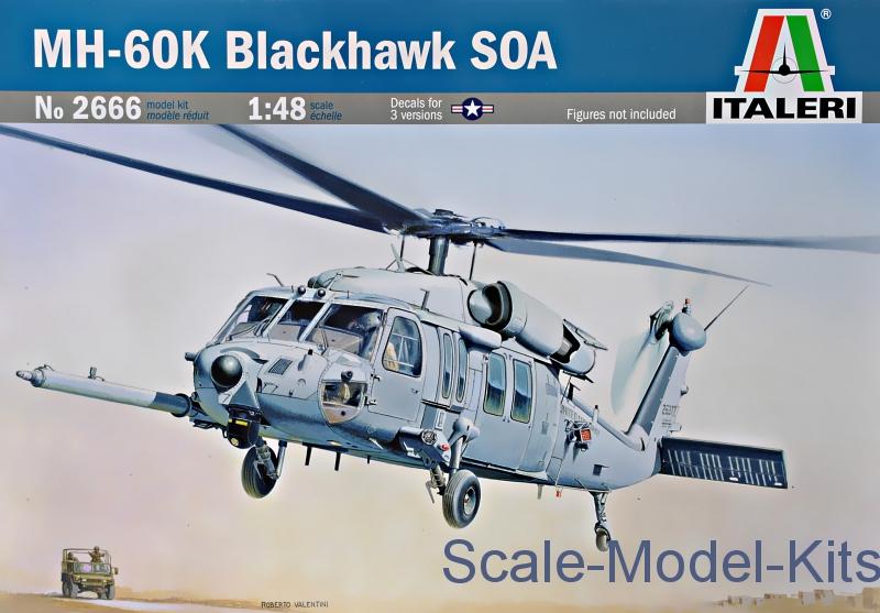 Mh 60 K Blackhawk Kit 1:48 Italeri IT2666