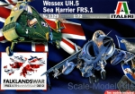 IT1329 Wessex UH.5 / Sea Harrier FRS.1