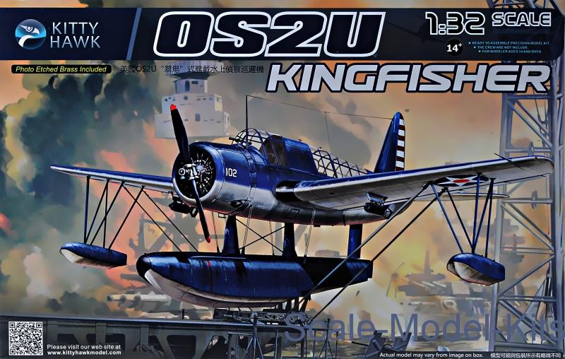 Kitty Hawk 1//32 KH32016 OS2U Kingfisher