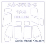 KVM48230 Mask for helicopter AS 350 B3