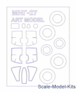 Decals / Mask: Mask for MiG-27 and wheels masks (Art Model), KV Models, Scale 1:72