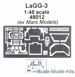 Mars-PE48012 Photoetched for LaGG-3