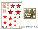 Mars-PE72000 Photoetched set Su-2, for ICM kit