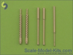 AM-48-020 A6M5 Zero armament set (7,7mm, 20mm gun barrels) & Pitot tube