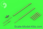 AM-48-120 Su-9 / Su-11 (Fishpot / Fishpot C) - Pitot Tubes and missile rails heads