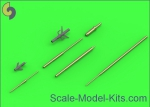 AM-48-121 Su-15 (Flagon) - Pitot Tubes (optional parts for all versions)