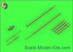 AM-72-104 Su-9 / Su-11 (Fishpot / Fishpot C) - Pitot Tubes and missile rails heads