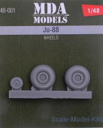 MDA48-001 Wheels for Ju-88