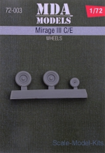 MDA72-003 Wheels for Mirage III C/E