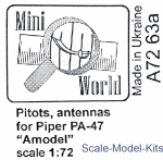 MINI7263a Pitot and antenna for