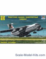 MST214479 Soviet military transport aircraft IL-76