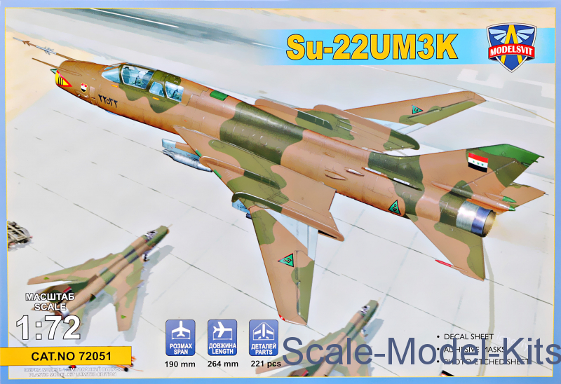 Su-22UM3K advanced two-seat trainer (Export vers.)