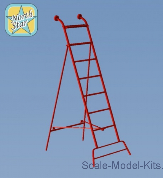 Ladders for MiG-21, late