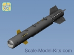 NS48084 Set of two KAB-500KR guided and corrected air bombs, resin, PE parts, decal