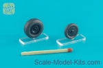 NS48114-a Wheels set for Messerschmitt Me.262 type 2 - No mask series