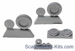 NS48120-a Wheels set for Vought F4U Corsair - No mask series