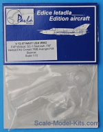 PAMV72007 Canopy for US NAVY aircraft, WWII (6 pcs.)