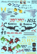 PRS48-106 Decal for Sikorsky SH-60B/MH-60