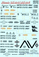 PRS48-107 Decal for Sikorsky UH-60A/MH-60G
