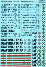 PRS48-117 Decal for Iranian F-14 Tomcats