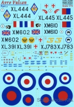 PRS72-256 Decal for Avro Vulcan, part 2