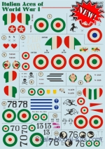 PRS72-267 Decal for Nieuport 17