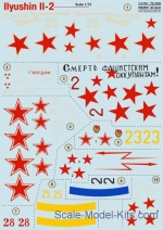 PRS72-306 Decal for Ilyushin Il-2