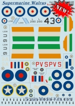 PRS72-308 Decal for Supermarine Walrus, part 1