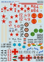 PRS72-311 Decal for Mill Mi-8/Mi-17