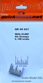 QBT48367 MiG-21MF Air scoops