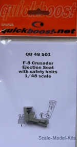 QBT48501 F-8 Crusader ejection seat with safety belts