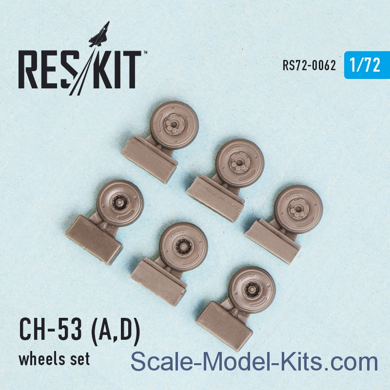 Wheels set for CH-53 A/D