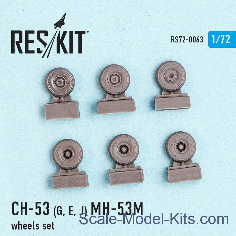 Wheels set for CH-53G/E/J, MH-53M