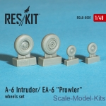 RS48-0001 Wheels set for A-6 Intruder / EA-6 Prowler (1/48)