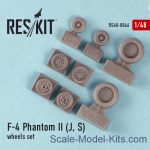 RS48-0066 Wheels set for F-4 Phantom II (J, S)