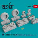 RS48-0116 Wheels set for EE Canberra