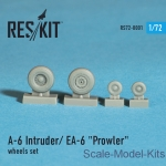 RS72-0001 Wheels set for A-6 Intruder / EA-6 Prowler (1/72)