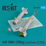 RS72-0100 KAB-500Kr (500kg) Guided bomb (2 pcs)