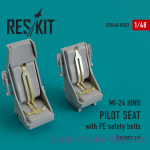 RSU48-0002 Upgrade Set for MI-24 HIND Pilot Seat With PE Safety Belts