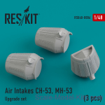 RSU48-0006 Upgrade Set Air Intakes for CH-53, MH-53 (3 pcs)