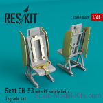 RSU48-0009 Upgrade Set for CH-53 Seat with PE Safety Belts