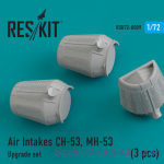 RSU72-0009 Upgrade Set Air Intakes for CH-53, MH-53 (3 pcs)