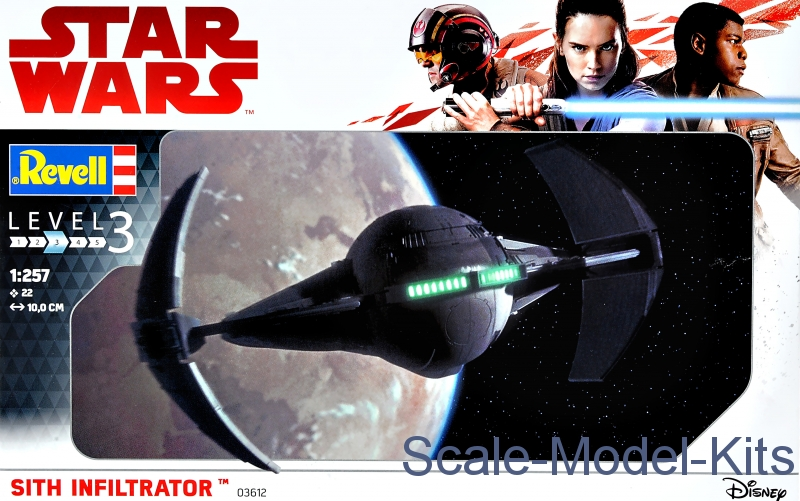 Star Wars. Spacecraft Sith Infiltrator